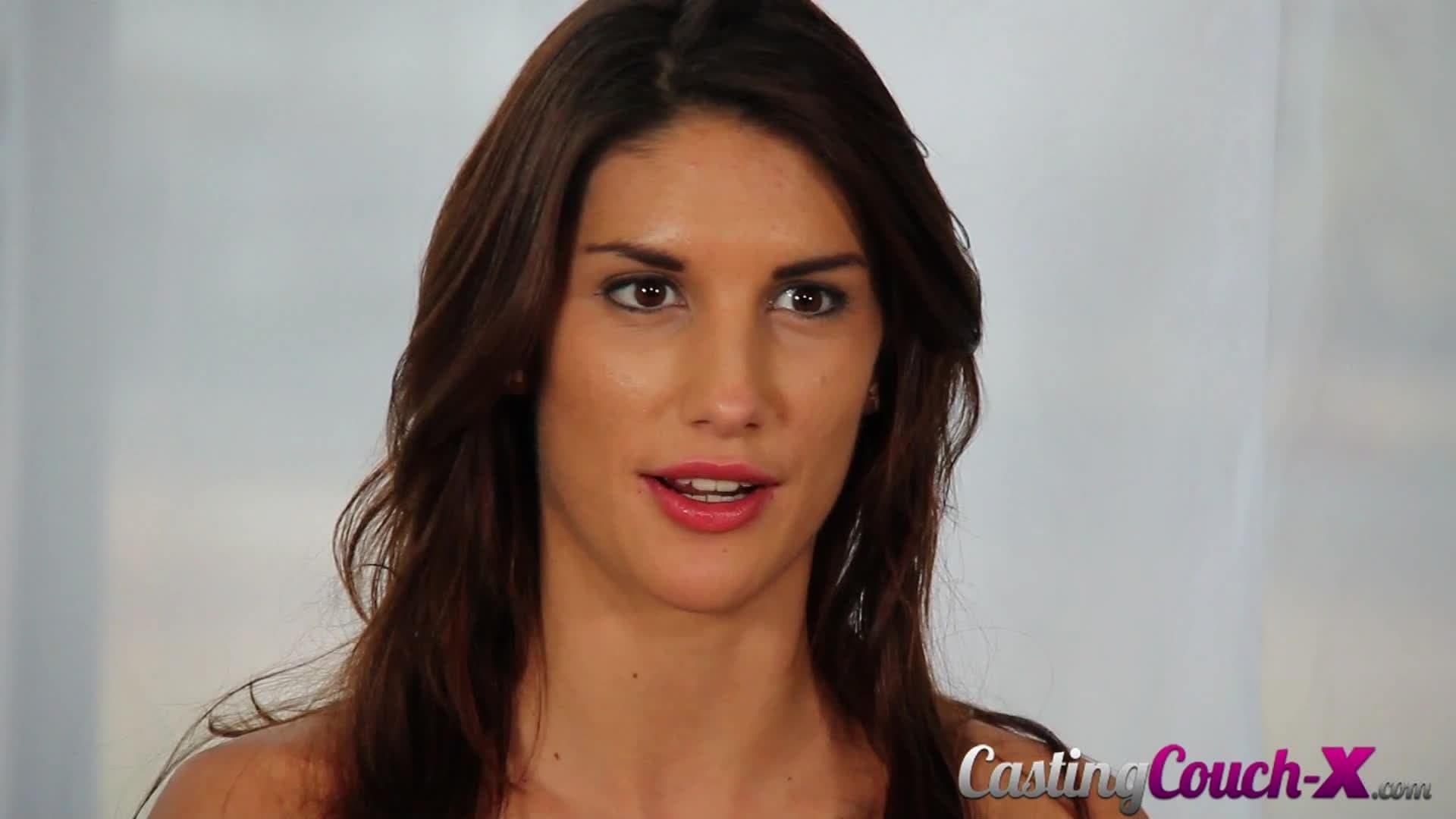 August Ames Video Porno august ames: casting an insatiable brunette - porndig