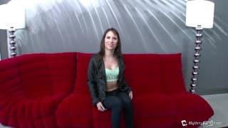 Kendra Khaleesi sucks a huge dick in this clip