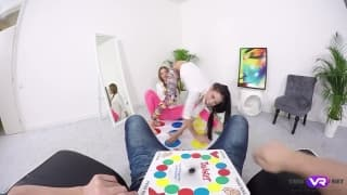 After a game of twister they want sex