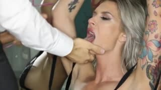 Brooke gets a hot pounding that makes her moan