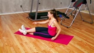Jessica is a brunette who loves to work out