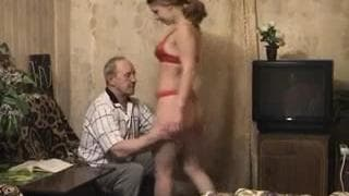 This old pervert gets to fuck a young girl