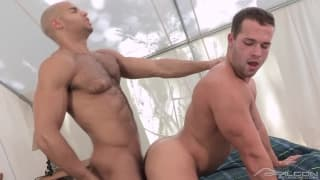 Luke Adams has a hot session with Sean Zevran