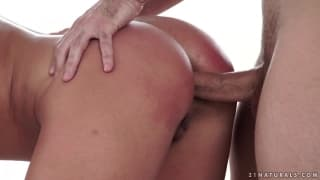 Anissa Kate takes it in the ass