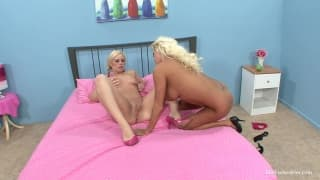 Nikita and Tara are two pussy lickers