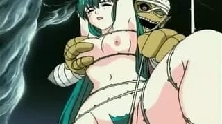 Hentai girls who enjoy with monsters