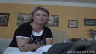 This Czech grandma loves to be fucked hard