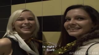 These Czech women give pleasure in this video