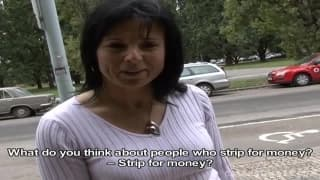 She likes to earn money making the best sex