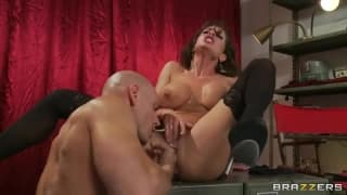 Veronica Avluv gets a hard pounding