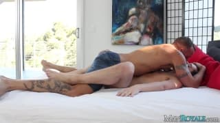 Chase Young is with Derek Parker sucking hard