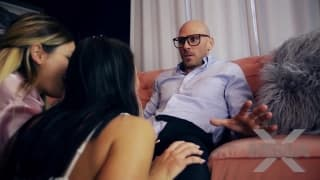 A hot Fuck with Kissa and Johnny Sins