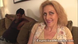 Dana Devine talks and fuck with Big Black Cock