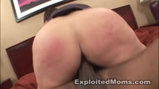 Cute amateur and talented Hot Mom gets facial