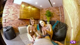A trio with Lita Phoenix and Carolin
