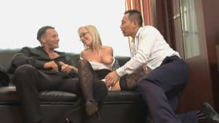 Jessica is a gorgeous blonde who enjoys dick