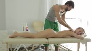 The massage will leave you very excited