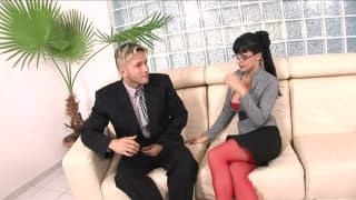 Aletta Ocean enjoys fucking her colleague