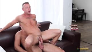 Matt Hart enjoys a hard ass nailing
