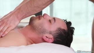 Slater James enjoying Jason Maddox