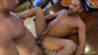 Dominic Pacifico sucking off Connor Maguire