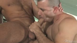 Spencer Fox and Chris Tyler suck each other