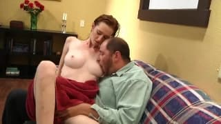 A naughty redhead who needs a good fucking