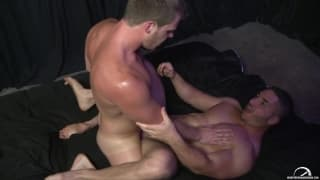 Brian Bonds and Marc Dylan get hard together