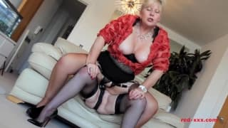 Two horny women sharing a dildo today