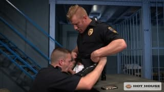 Brian Bonds and Johnny V are hot policemen