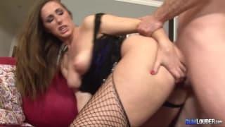 Paige Turnah in CumLouder American's dick