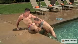 Trenton Ducati sucking off Connor Kline