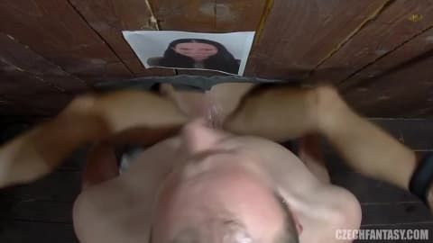 Sex through hole in wall videos