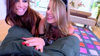 Aidra Fox and Jillian Brookes want to enjoy