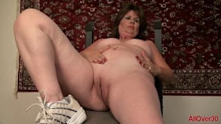 Sexy Mature MILF solo masturbation video