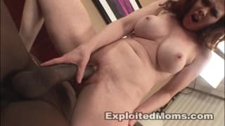 Mae Victoria is a redhead who loves dick