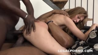 Sofie and Luca Bella enjoy sharing this scene