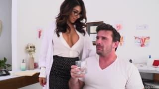 Raven Hart enjoys the hard dick of Manuel