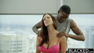 Kendra Lust enjoys every moment of this
