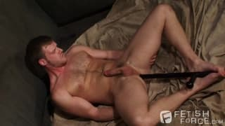 Leo Forte punishes Brian with pleasure