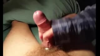 Masterbating all my cum for you to enjoy and