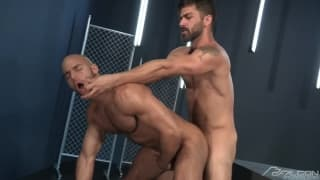 Adam Ramzi and Sean Zevran enjoy sex together