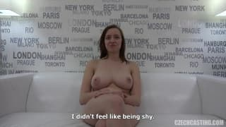 Zuzana is in this casting for a good fuck