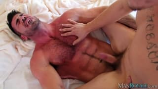 Billy Santoro and Asher Hawk suck dick