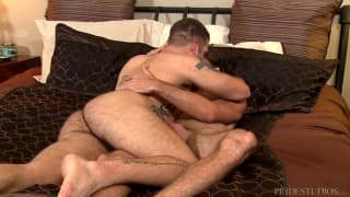 Brett Bradley fucks alone with Caleb Troy