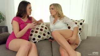 Jemma Valentine and Tiffany Doll girl on girl
