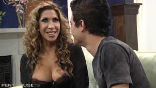 Kayla Carrera gets pleasured by boyfriend