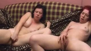 These lesbians fill each other with pleasure