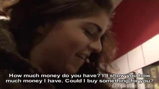 Compilation of Czech girls fucked for money