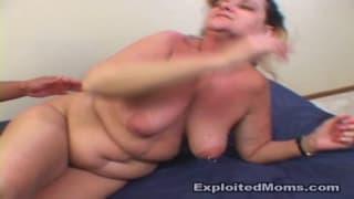 Hot mom rough sex!!! big black cock